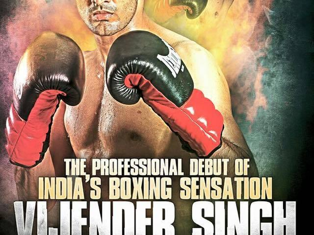 Vijender Singh first pro fight