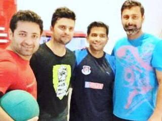 Piyush Chawla_Team India_Wife_Gym Training_Suresh Raina_