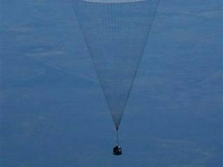 Russian cosmonaut sets new space record, lands with two first-timers in Kazakhstan