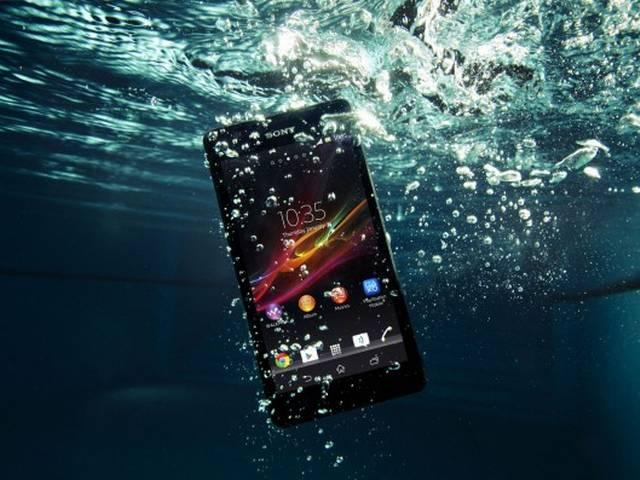 Don't take your waterproof Xperia Z5 underwater