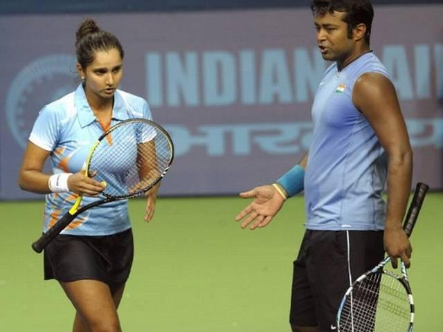 dravid on sania and paes