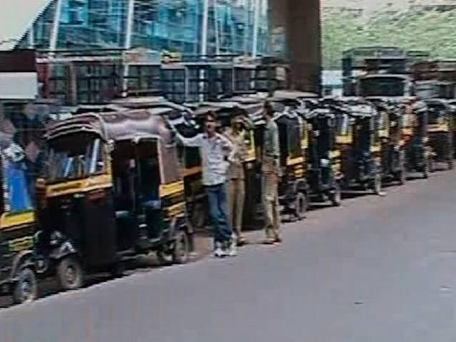 Don't know Marathi, you can't drive auto in Maharashtra