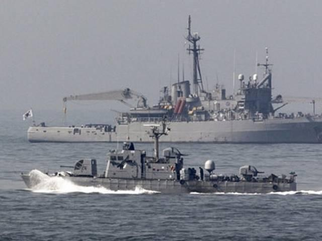 South Korean warships on friendly mission drop anchor in Chennai