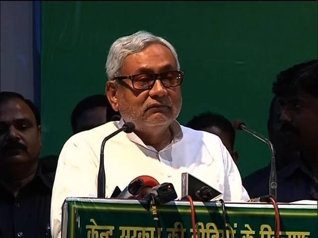 Arun Jaitley mocks Nitish Kumar on development