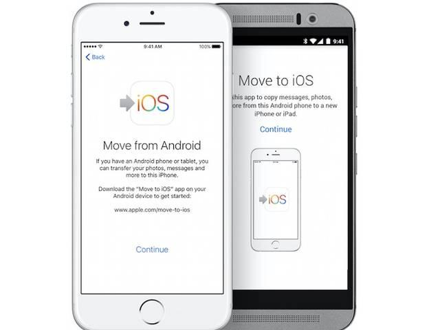 Apple Launches Move to iOS, Its First Android App