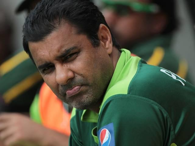 we are totally focused on test series against england: waqar younis
