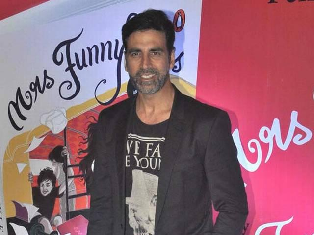 Doing 3-4 films a year not at all taxing for Akshay Kumar