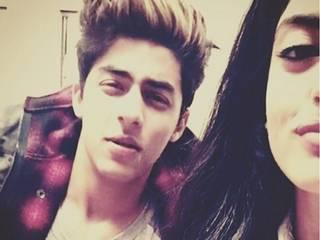 who we spotted with Aryan Khan