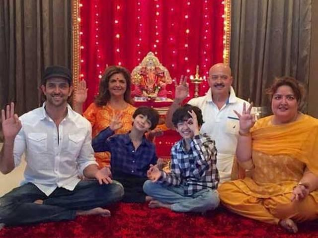 Hrithik Roshan And Sussanne Khan Celebrated Ganpati Puja With Their Kids Read