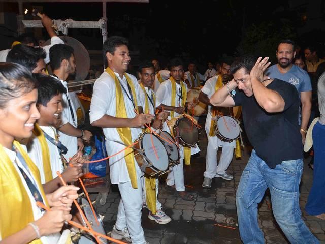 salman dance on ganpati