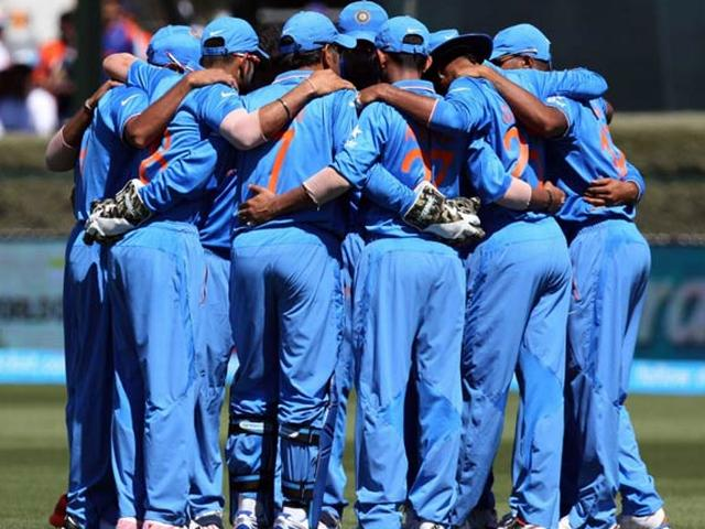 team india annoncement for