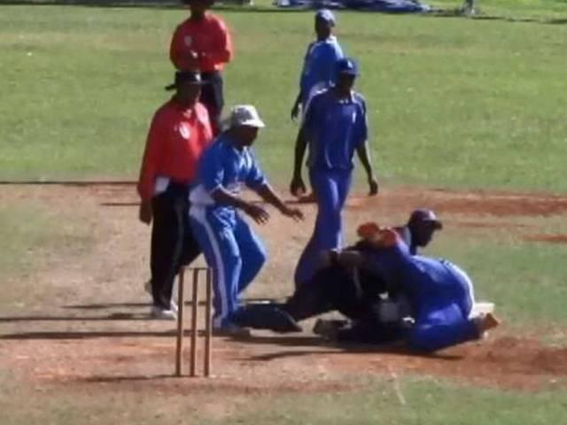 Bermuda club bans top cricketer Jason Anderson after nasty on-field fight