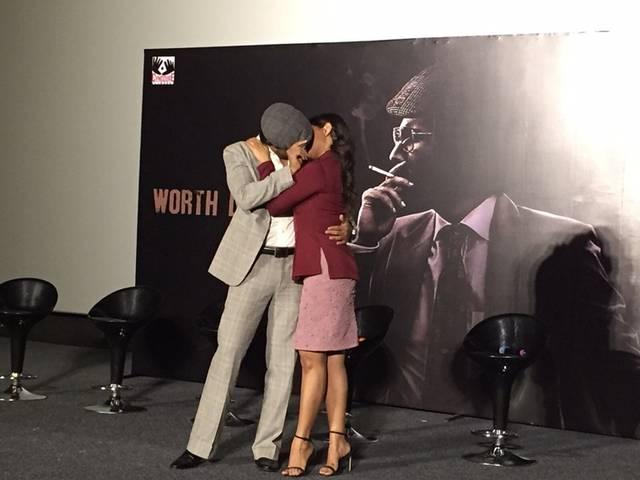 Randeep Hooda, Richa Chadda go bold at the trailer launch of 'Main Aur Charles'