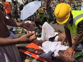 At least 220 dead, 450 injured in stampede at hajj in Saudi