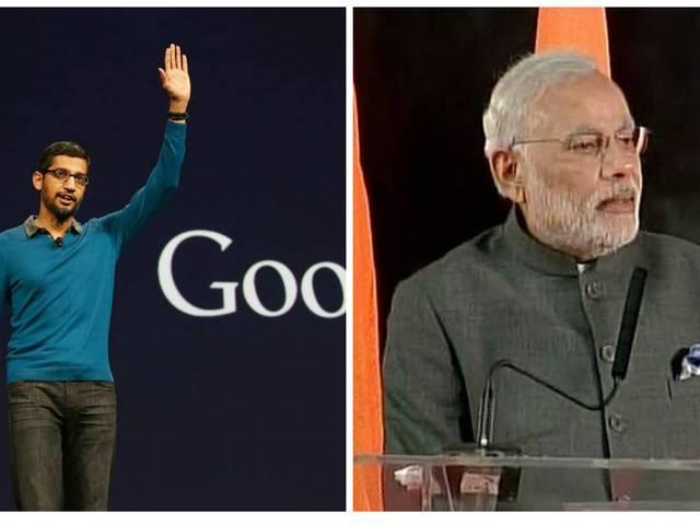 Modi's visit will take advantage of Google