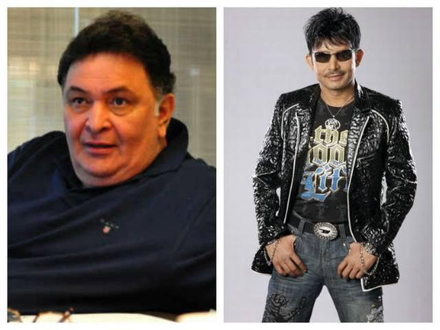 Rishi Kapoor gives a befitting reply to KRK on twitter