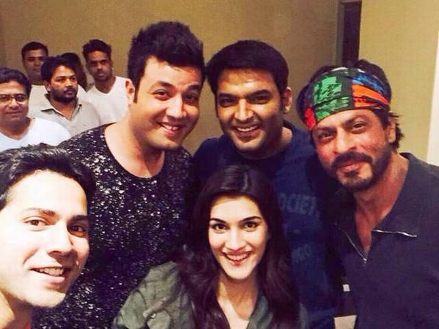 MS Dhoni, Suresh Raina & other Team mates at the special screening of Kapil Sharma's movie
