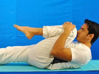 pawanmuktasana Yoga for Acidity