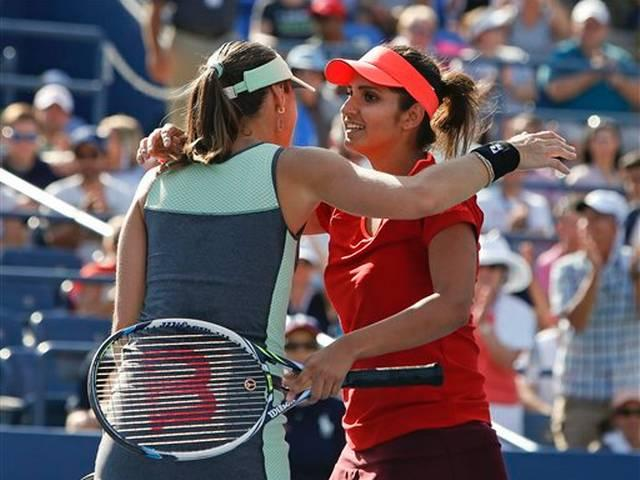Sania Mirza-Martina wins guangzhou open