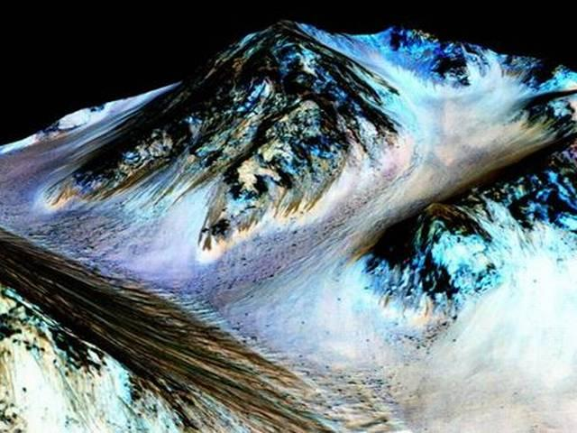 Nasa finds evidence of flowing water on Mars