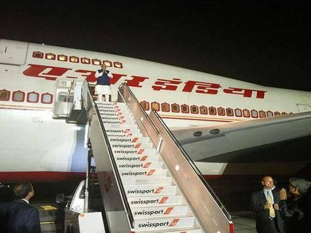 Narendra Modi visit end, leaves for India