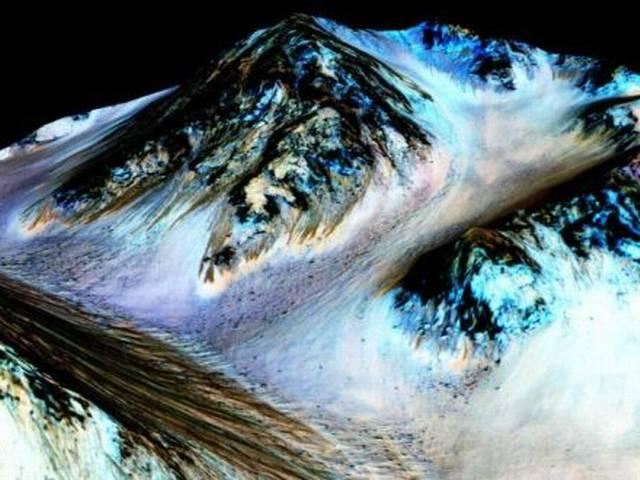 It's a big achievement for nasa to found water on Mars