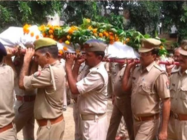 saharanpur communal conspirasy over cop death
