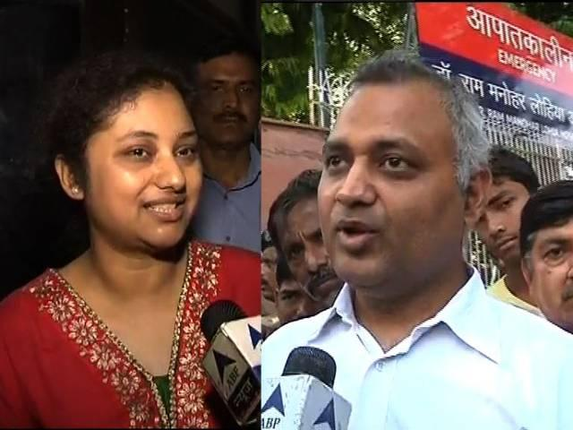 somnath bharti wife lipika will appear today in sc
