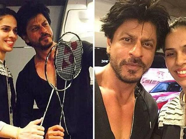I want to be the Saina of films, tweeted Shah Rukh Khan
