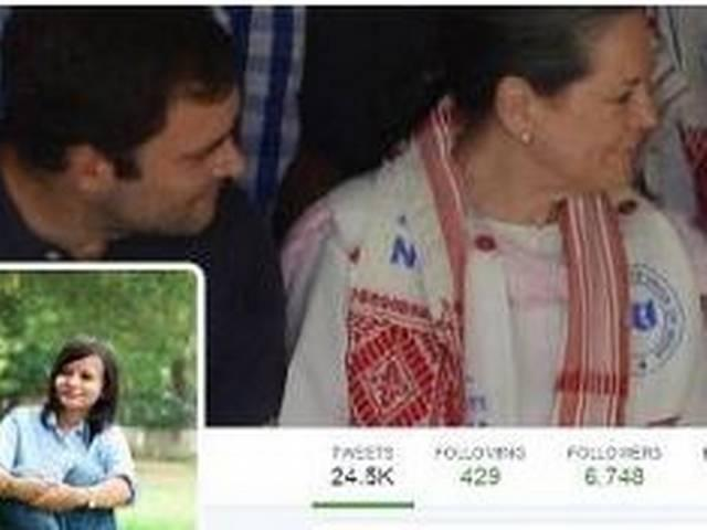 so called modi bkhat begs for mecy from female nsui leader