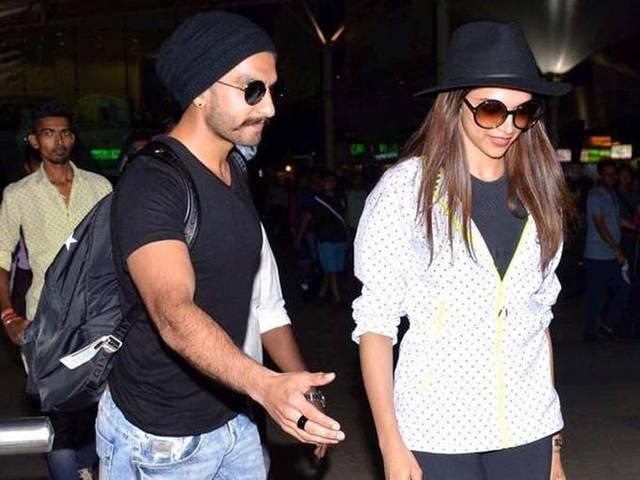 Deepika Padukone & Ranveer Singh Were Spotted Kissing At Airport