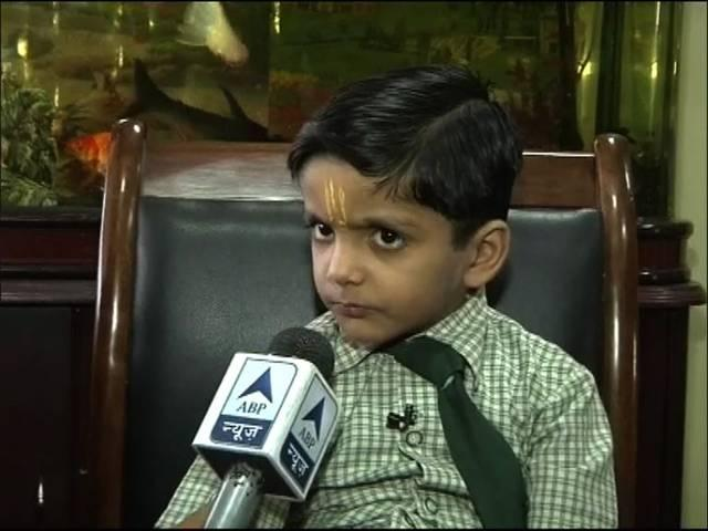 'Google Boy': five year old Anmol Swami knows it all