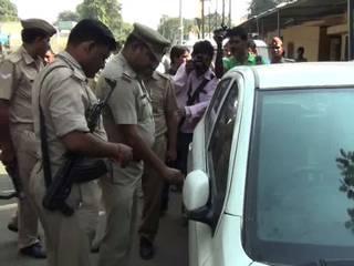 UP: meerut police inspector was using stolen car