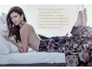 aditi rao hydari goes topless for photoshoot