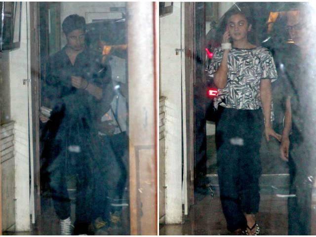 Alia Bhatt visits Sidharth Malhotra's house post midnight