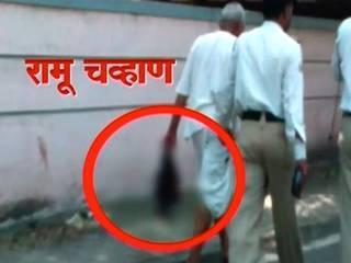 watchman kills wife, walks on road with head and axe