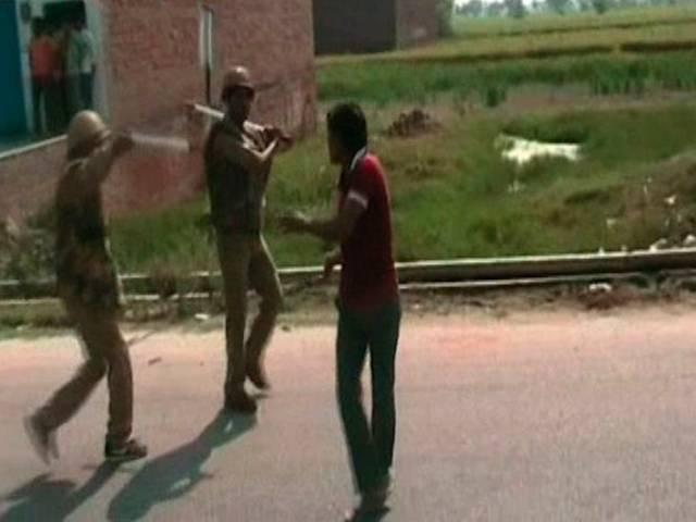 Violence in Mainpuri over dead cow