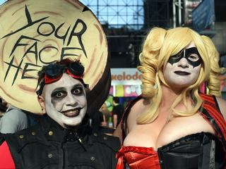 Zombies, villains and heroes! New York Comic Con kicks off in outlandish style