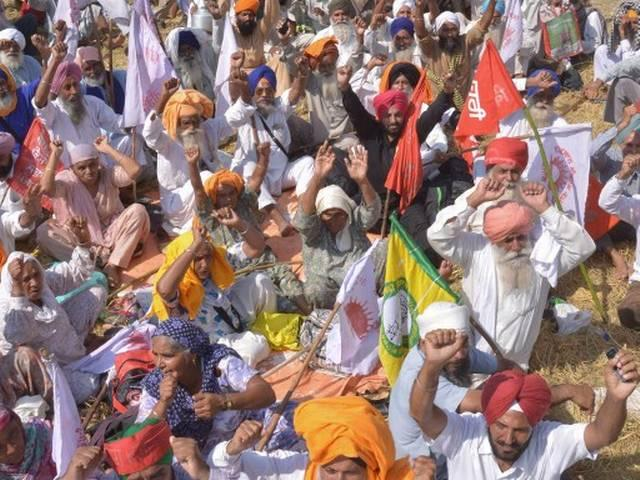 Punjab: Train Services Hit due to Farmers' Strike