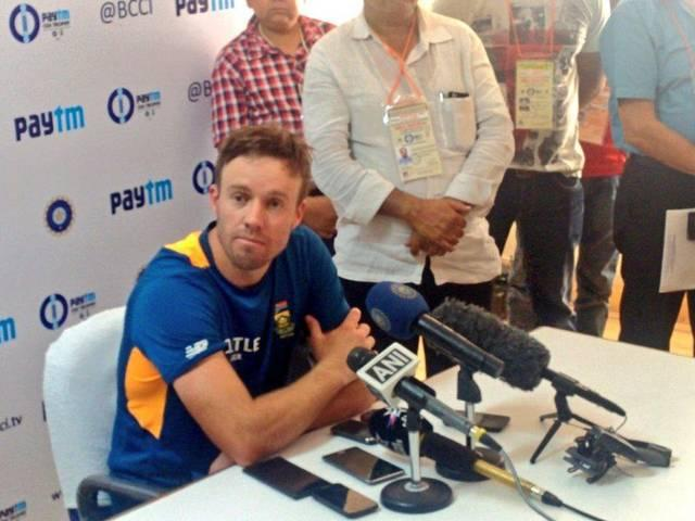 We look to build on the winning momentum from the T20Is: AB De Villiers