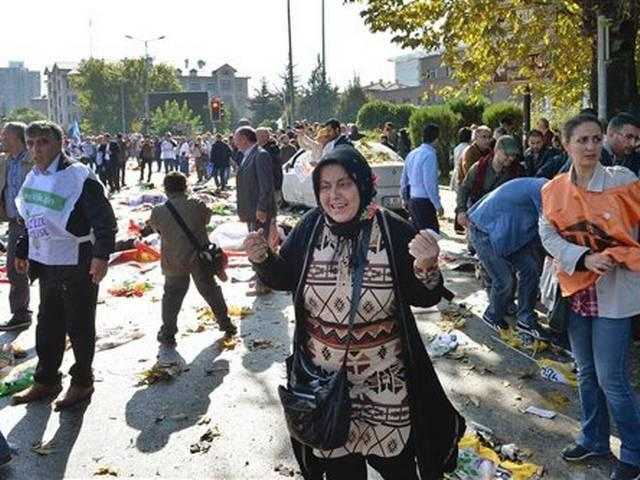 Turkish Capital Ankara Hit by Explosions, Killing at Least 96