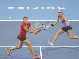 Sania Mirza-Martina Hingis claim China Open doubles title