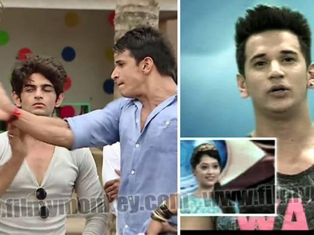 When 'Bigg Boss 9' contestant Prince Narula slapped a guy