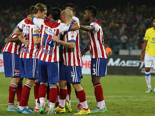 Atlético beat Kerala to go top of the table