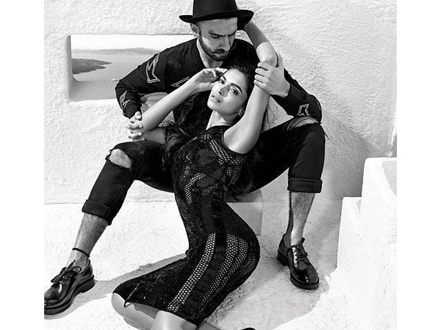 ranveer singh and deepika padukone goes for a stunning photoshoot
