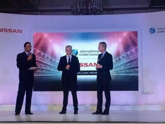 World cricket signs eight-year Nissan sponsor deal