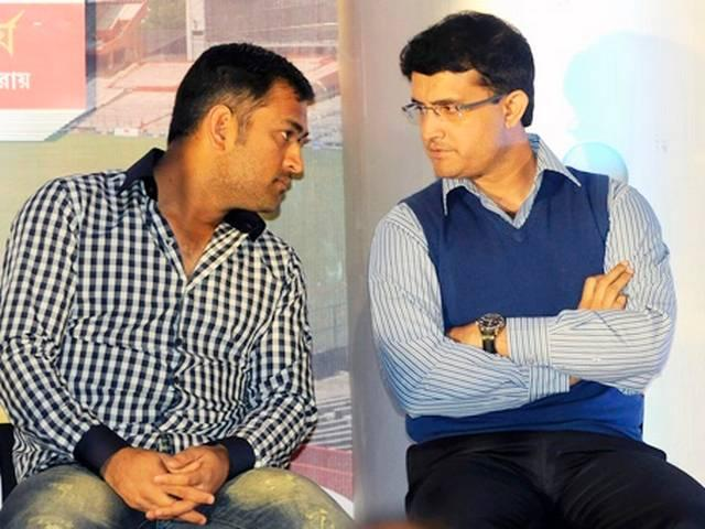 ganguly happy with dhoni batting order