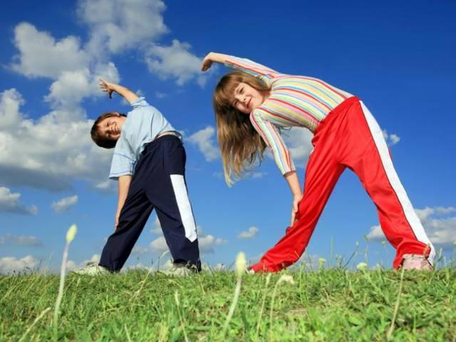 daily 5 minute exercise good for children's