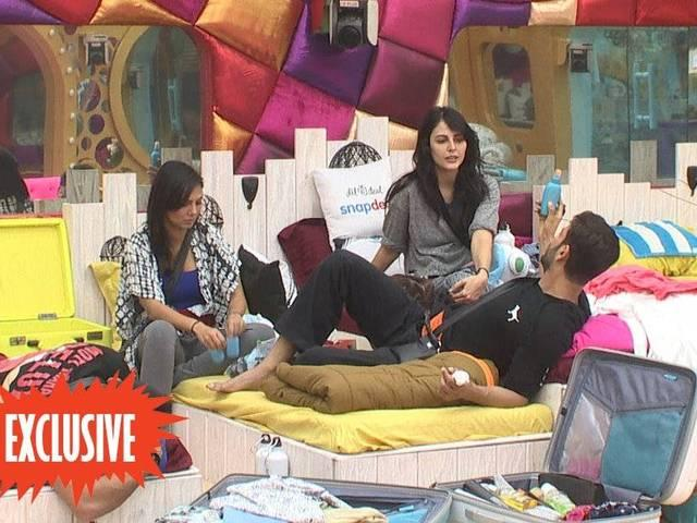 bigg boss day three pictures