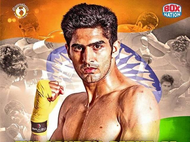 Thrilled to be fighting in London as a professional for the first time: Vijender Singh